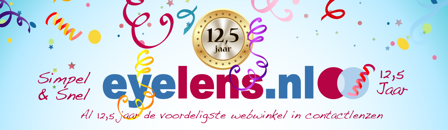 Eyelens 12,5 jaar